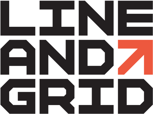 Line And Grid Logo